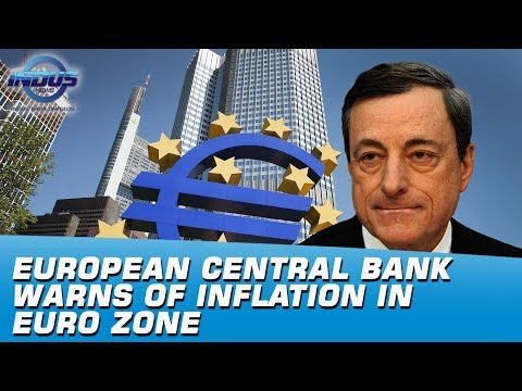 European Central Bank Warns Of Inflation In Euro Zone | Indus News