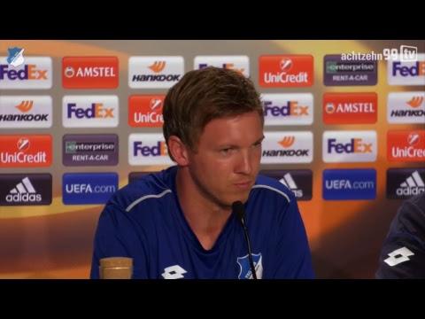 Die Pressekonferenz vor dem Europa-League-Heimspiel gegen Basaksehir Istanbul