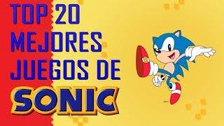 Top 20 mejores juegos de Sonic segun El Cofre de los Videojuegos