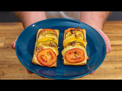 tarte-feuilletée-chèvre,-tomates-et-figues,-recette-rapide!