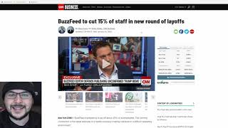 Buzzfeed Staff Walks Out In Protest, I'm Betting Layoffs Are Coming Soon