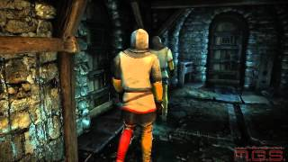 """The Witcher 2: Assassins of Kings - Трейлер """"Побег из тюрьмы"""""""
