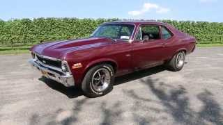 1970 Chevy Nova SS For Sale~383 Stroker~4 Speed~Nut & Bolt Restoration