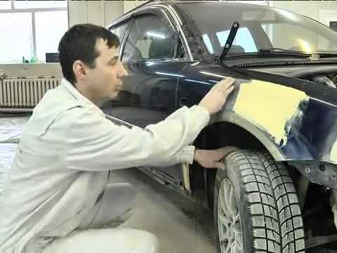 Локальный кузовной ремонт, локальная покраска ChipsAway Люботинский в Санкт-Петербурге