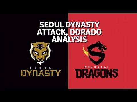 Kozan analysis | Seoul (offense) v Shanghai (defense) Dorado OWL.