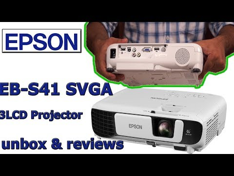 epson eb-s41 projector review