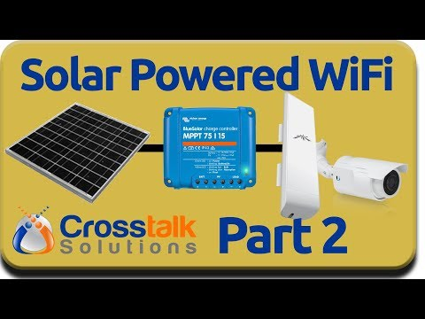 Solar Powered WiFi Part 2