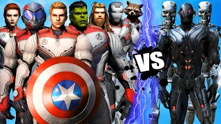 THE AVENGERS (ENDGAME) vs ULTRON - Epic Battle