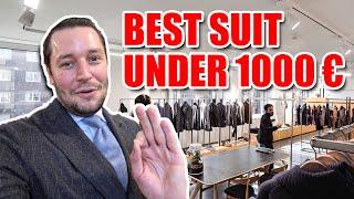 Best suit & shoes under 1.000€…
