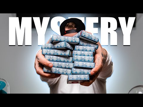 UNBOXING THE RAREST DECKS OF PLAYING CARDS!!! (Mystery Decks!)