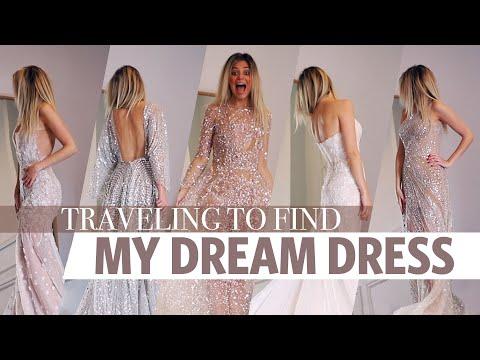 WEDDING DRESS SHOPPING // I Flew Across The World To Find My Wedding Dress