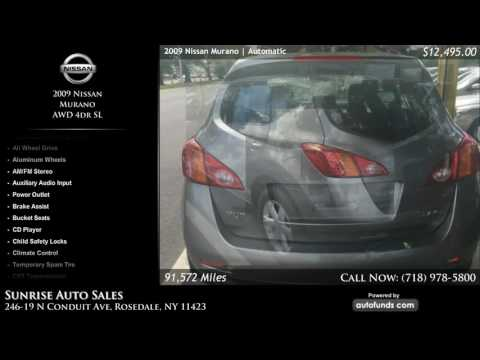 Used 2009 Nissan Murano | Sunrise Auto Sales, Rosedale, NY
