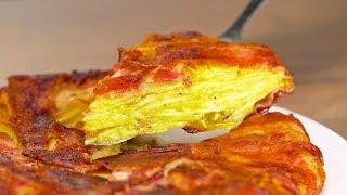 Шотландский картофельный супер-пирог. Всего 3 ингредиента! Без муки и яиц! Рецепт от Всегда Вкусно!