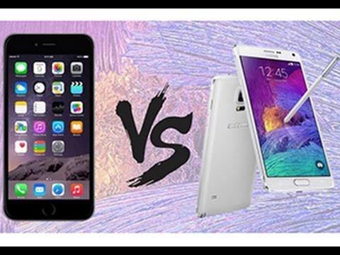 ดุเดือด!!! iPhone 6 VS Samsung Galaxy Note 4 ใครเร็วใครแรงกว่ากัน