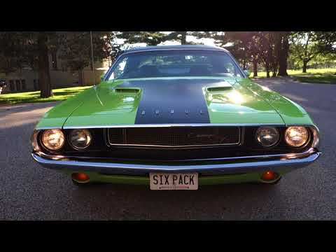 1970 Dodge Challenger R/T 440 Six Pack! Www.NationalMuscleCars.com