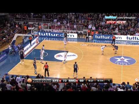 Anadolu Efes - Real Madrid Maç Sonu (THY Euroleague)