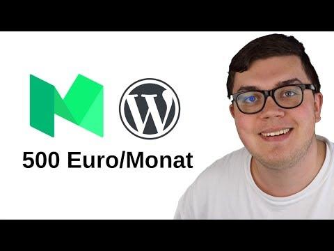 Blog Starten 2019 - 500 Euro/Monat Als Blogger Online Verdienen