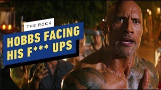 The Rock on Hobbs Facing His Past F***-Ups in Hobbs & Shaw