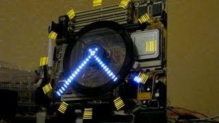 Как сделать Необычные Роторные Часы