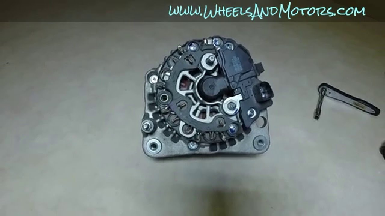 maxresdefault how to replace alternator brush holder (vw golf mk4) alternator