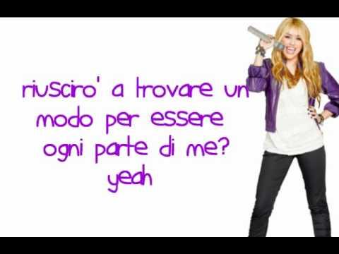 Every Part Of Me - Hannah Montana - Traduzione