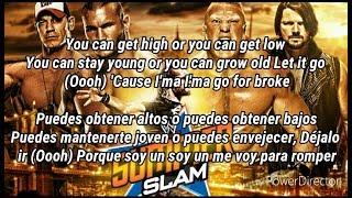 Summerslam 2017 Official Theme Song Go For Broke Subtitulado Español Ingles