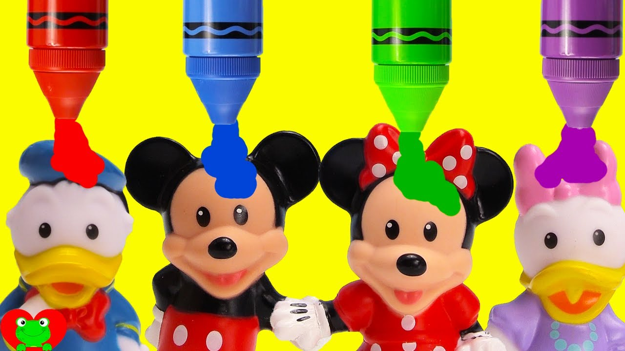 Mickey Mouse Clubhouse Friends Learn Colors and Opposites YouTube