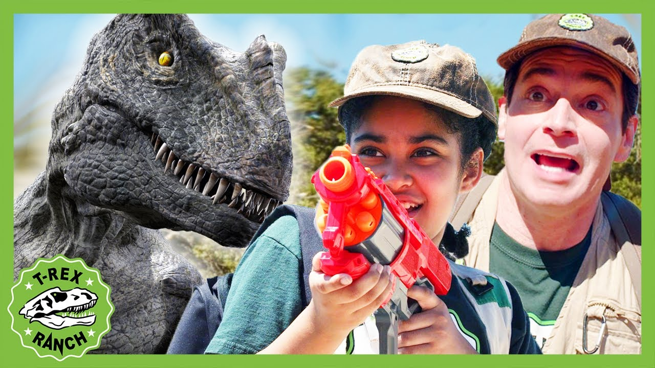 Welcome to Dinosaur School! T-Rex Ranch - Dinosaur Videos for Kids!