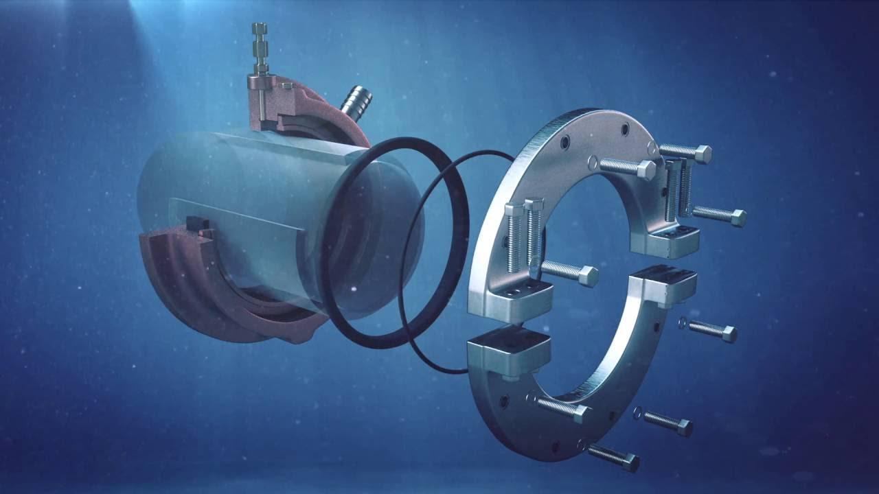 Water Lubricated Stern Tube Seal Evk Youtube
