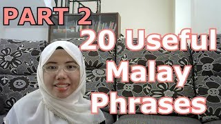 [LEARN MALAY] 109-20 Useful Malay Phrases 2
