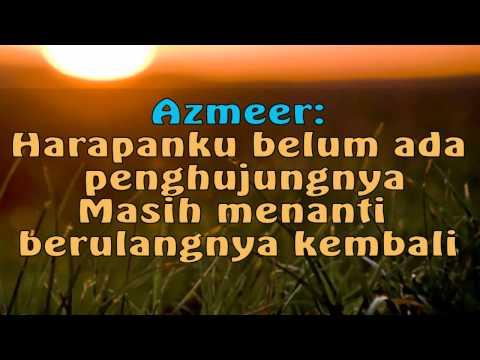 AMY MASTURA & AZMEER -HARAPAN SEMALAM (+LIRIK)