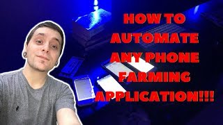 AUTOMATE ANY MONEY MAKING APP!! W/O ROOT PART 1 | FREP - Finger replayer