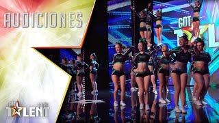 ¡WOW! ¿Quién decía que el cheerleading eran solo pompones? | Audiciones 7 | Got Talent España 2017