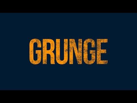 Editable Grunge Text | 1 Minute Photoshop Tutorial | Urdu / Hindi thumbnail