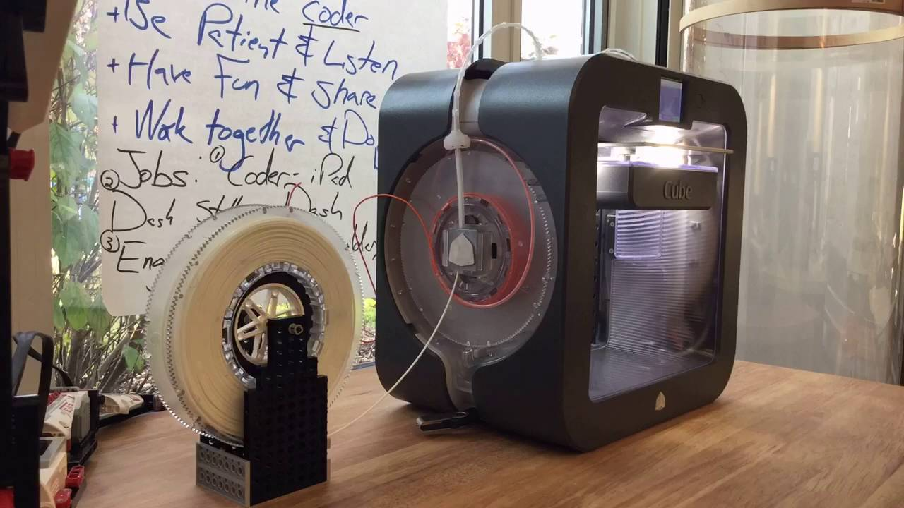 How the Cube 3 bulk Filament Hack works by