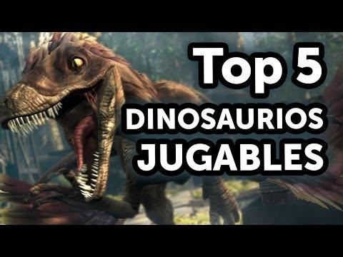 Top 5 - Dinosaurios Jugables