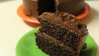 The Hunger Games Capitol-grade Dark Chocolate Cake