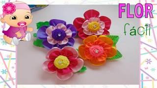 Tutorial: Flor fácil de 5 pétalas
