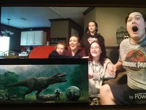 "Jurassic World Fallen Kingdom Official Trailer Reaction""Allosaurus And Carnotaurus Merry Christmas!"""