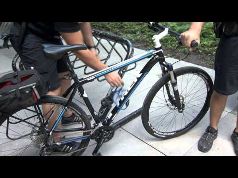 How to properly lock your bicycle