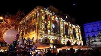 8 dicembre 2019 splendide luci in piazza Riforma   Lugano