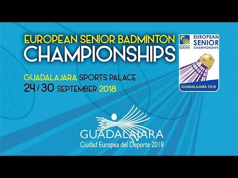 Round #1 (Court 10) - 2018 European Senior Championships [Part 2]
