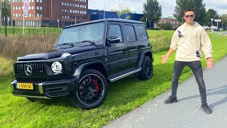 TESTRIT MAKEN IN DE MERCEDES G63 AMG!