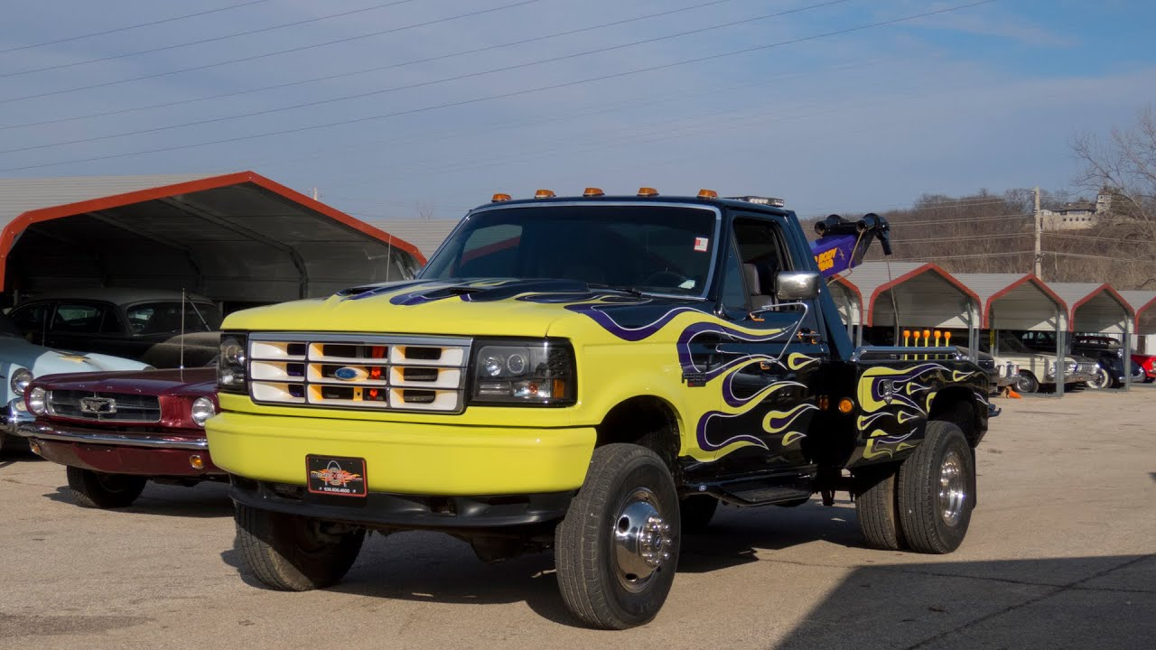 2016 Ford F350 >> 1990 Ford F-350 XLT 5 Speed Tow Truck | Full Tour, Start Up, and Test Drive - YouTube