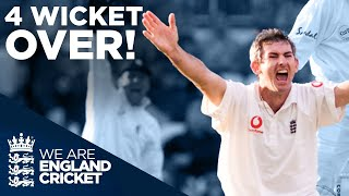 Andrew Caddick Takes 4 Wickets In One Over! | England v West Indies 2000 | England Cricket
