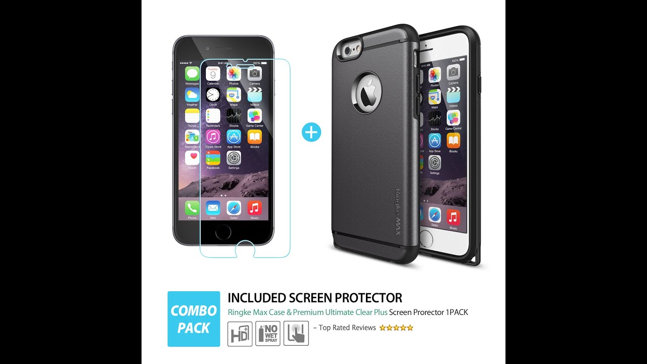 iPhone 6 Plus Ringke Max Double Layer Tough Armor Case ...