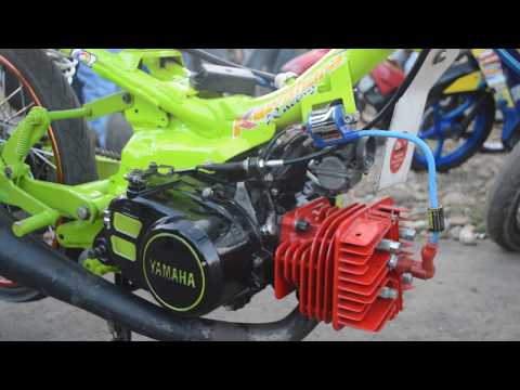 Modifikasi Motor Yamaha Drag Fizr Bor'up 150cc