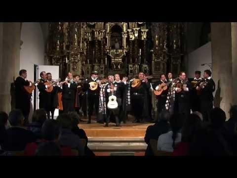 Concierto de la Cuarentuna de la Ciudad de México en Santiago de Compostela