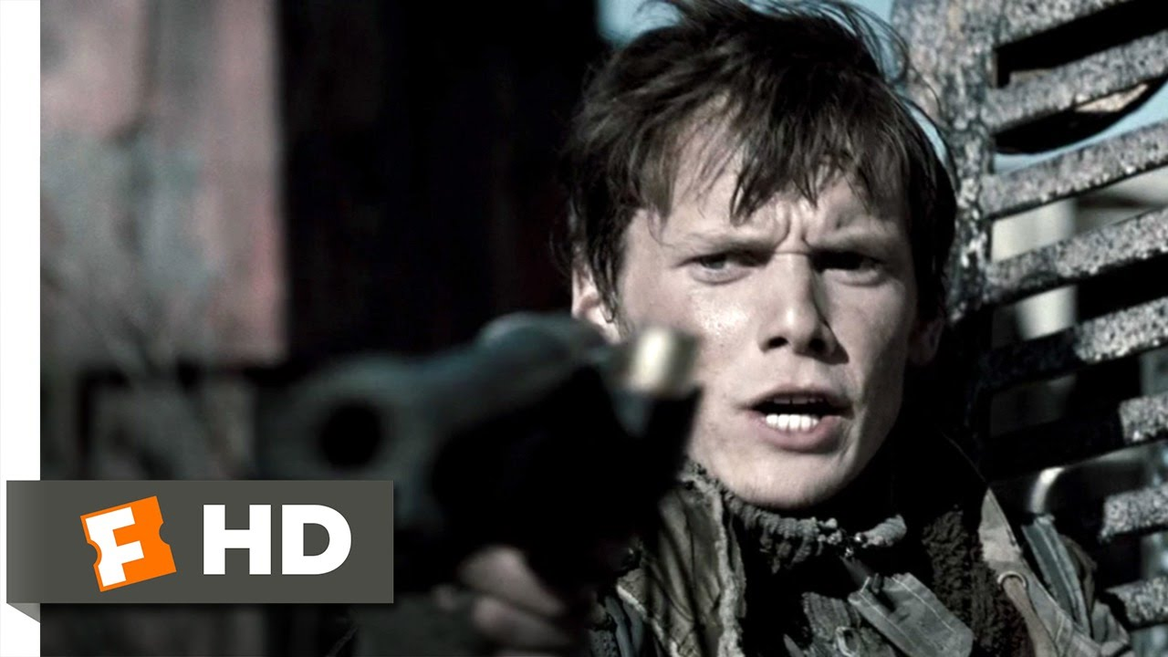 terminator salvation 410 movie clip blown cover 2009