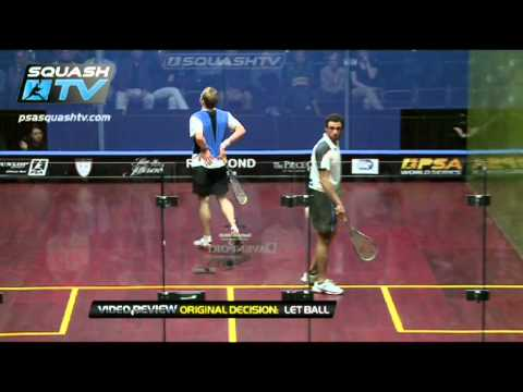 Squash : So You Think You Can Ref ? : Ramy Ashour v Nick Matthew - Contact : NAO Squash 2012